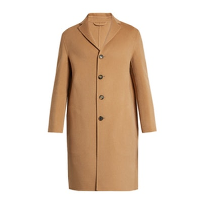Charlie Wool and Cashmere-Blend Overcoat