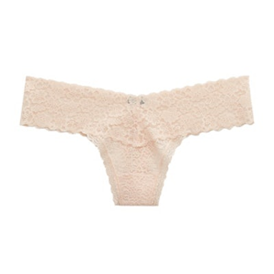 Aerie Everyday Loves Lace Thong