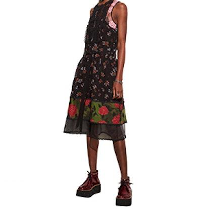 Bib Tiered Dress