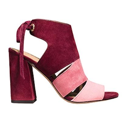 Minetta Colorblock Sandal in Pink