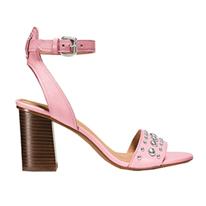 Paige Studded Heel in Pink