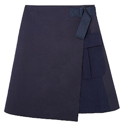 Wrap-Over Strap Skirt