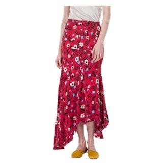 Flora Skirt Resort Floral