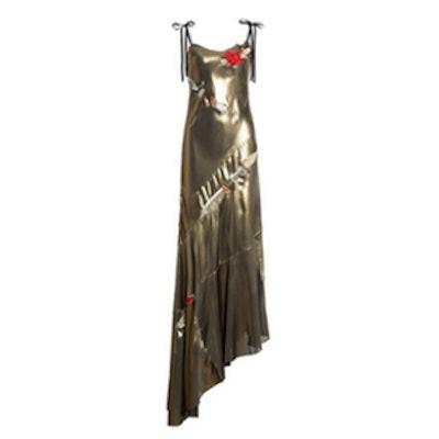 Gold Dagger Dress