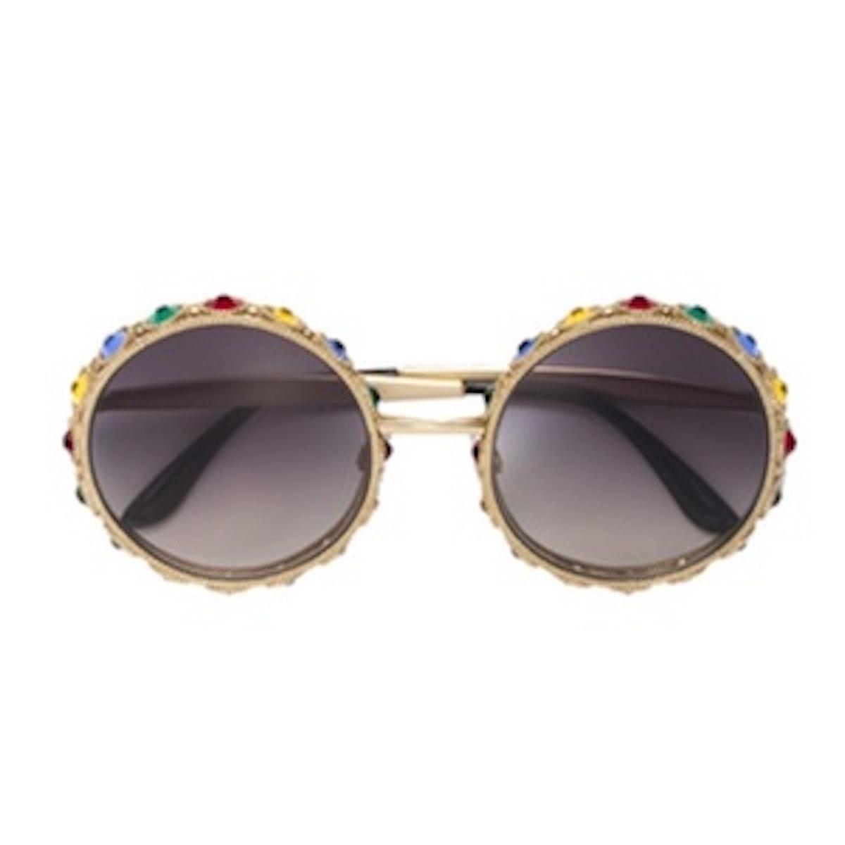 Limited Edition Mambo Metal Round Sunglasses