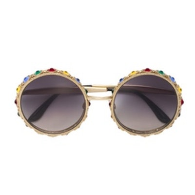 Limited Edition Mambo Metal Round Sunglasses