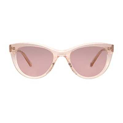 Clare V. Collab Sunglasses in Eclat with Plum