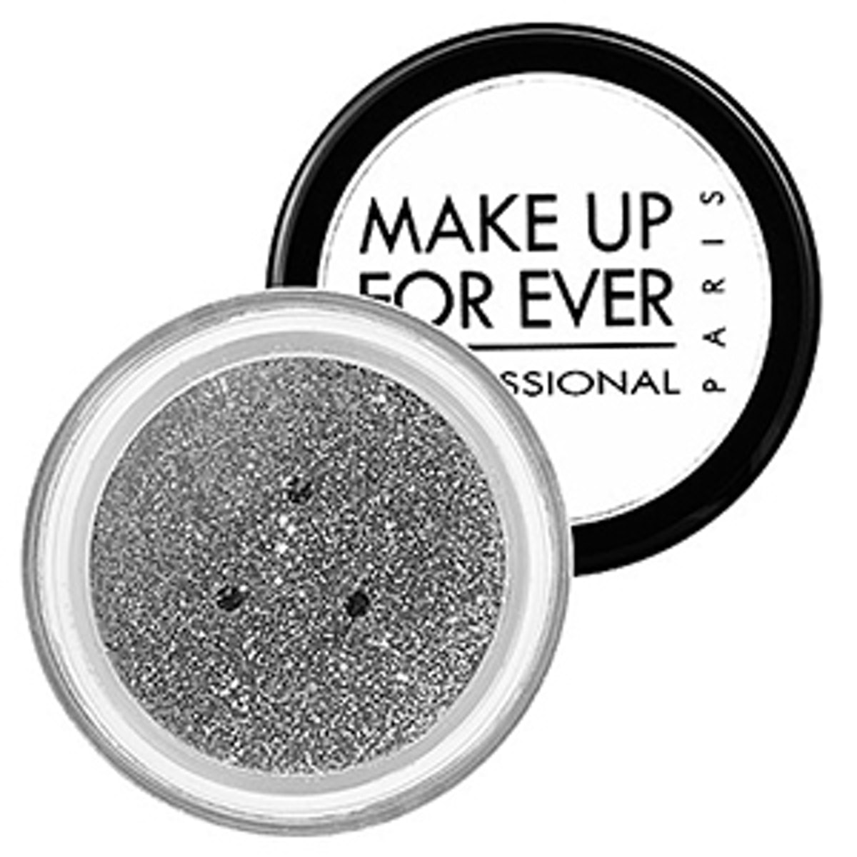 Make Up For Ever Glitters in Metallic Silver