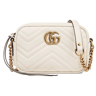 GG Marmont Camera Mini Quilted Leather Shoulder Bag