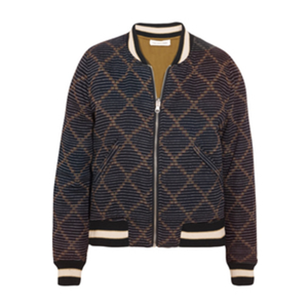 Dabney Reversible Printed Cotton Bomber Jacket