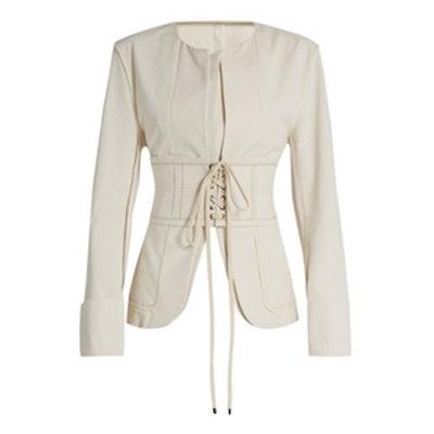 Honey Corset-Waist Jacket