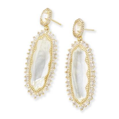 Kalina Statement Earrings in Gold