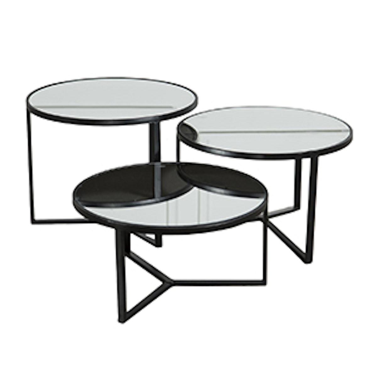Fiona 3 Piece Bunching Coffee Table Set