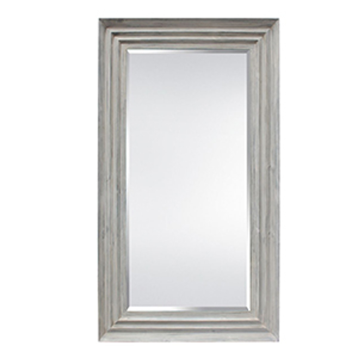 Leaner Mirror-Grey Wash