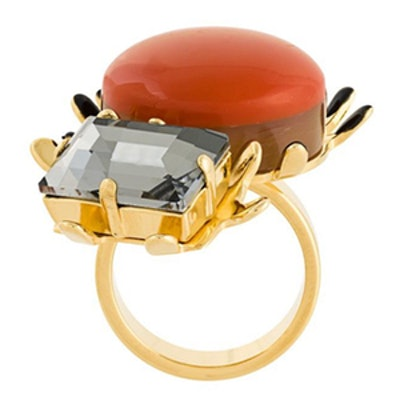 Resin Embellished Ring