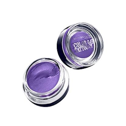 Eye Studio Color Tattoo 24HR Eyeshadow in Painted Purple