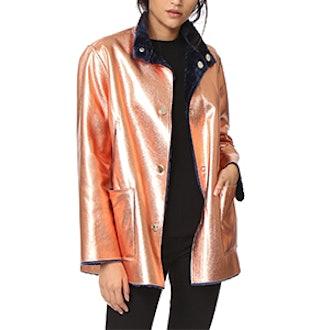 Faux Fur Reversible Culver Coat