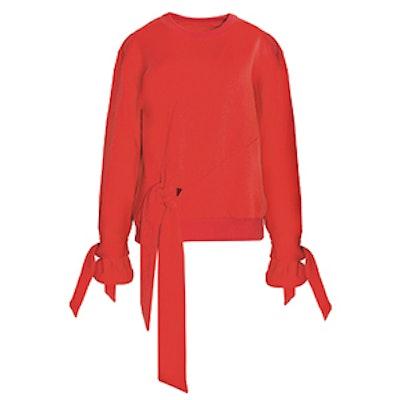 Knot Tie Sweatshirt