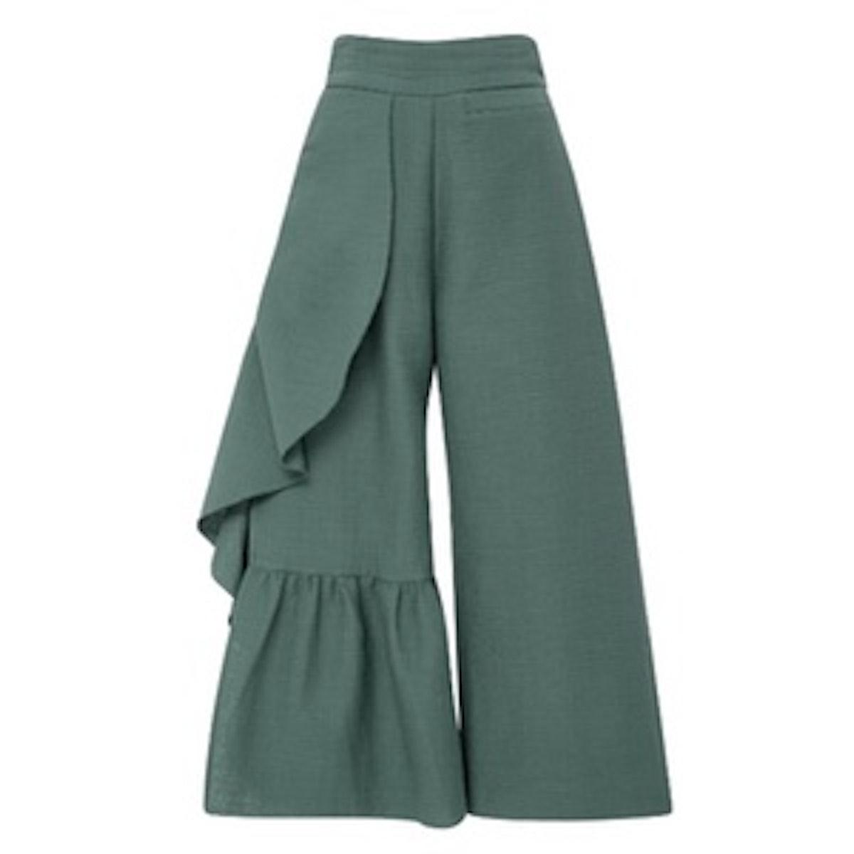 Cropped Ruffle Revel Pants