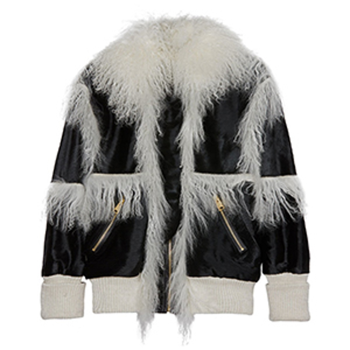 Lyla Shearling Leather Coat