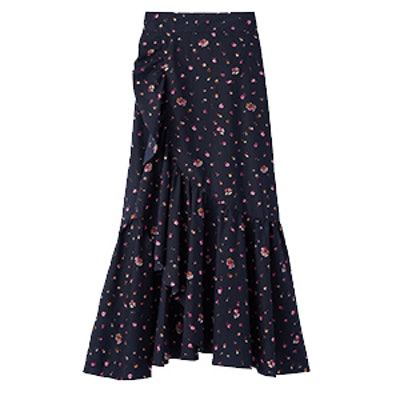 Mia Floral Wrap Skirt