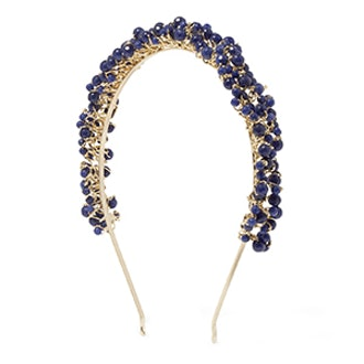 Bouquet Gold-Tone Quartz Headband