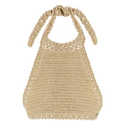 Jannah Halterneck Crochet Bikini Top