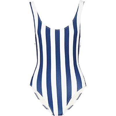 Anne-Marie Striped Swimsuit