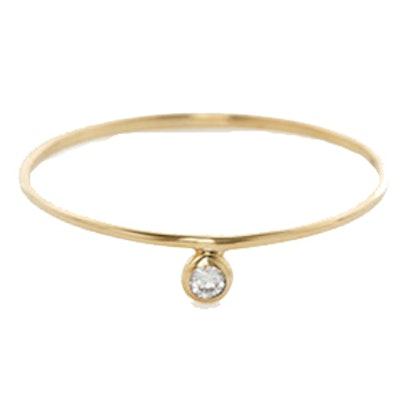 Alexa White Diamond Ring