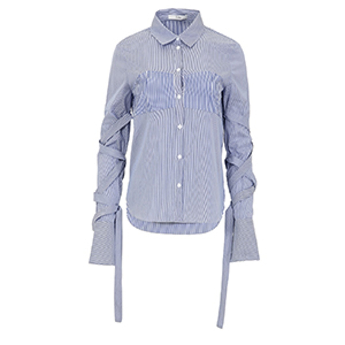 Men's Stripe Strappy Shirt