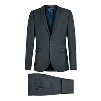 Skinny Fit Three Piece Suit