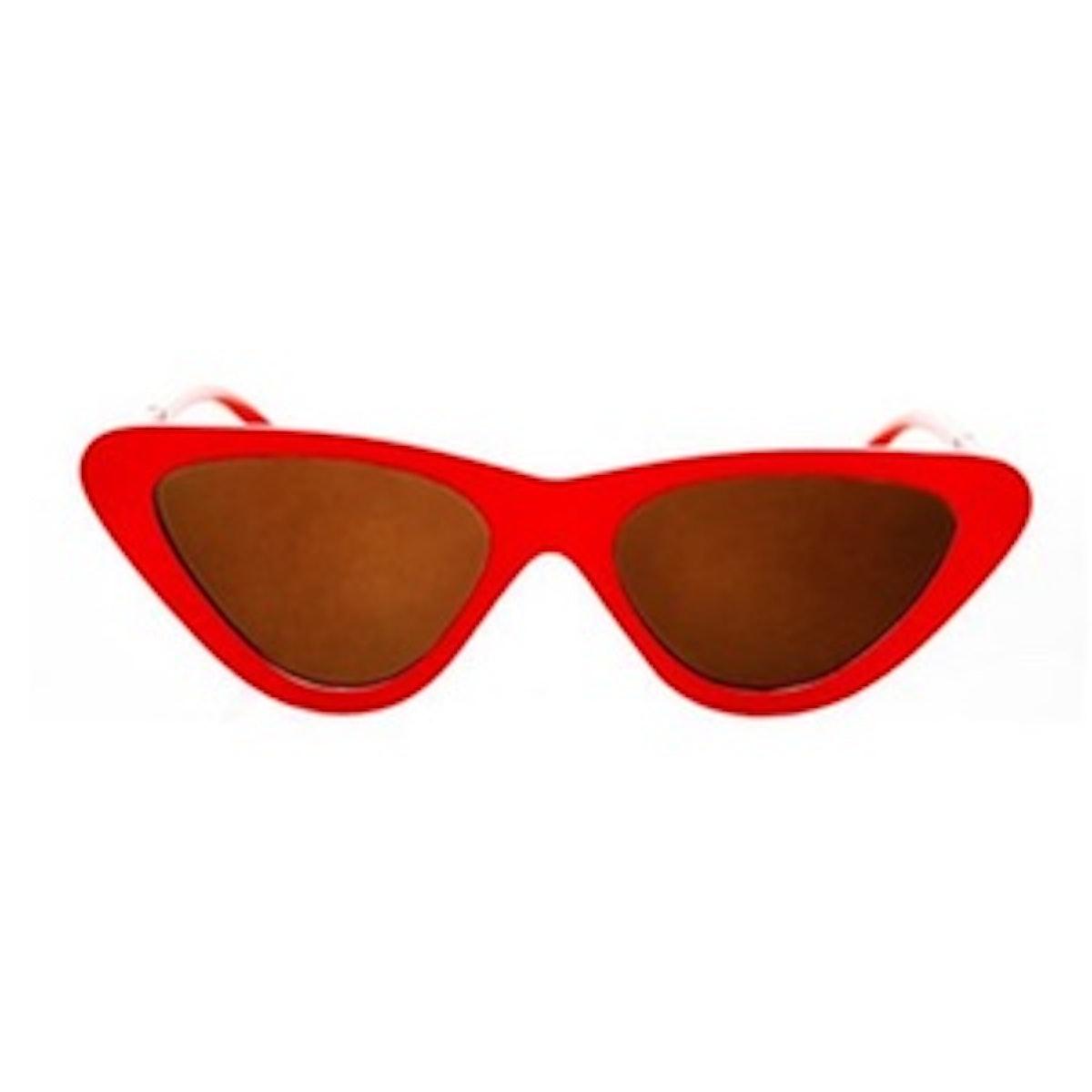 Polly '90s Pointy Cateye Sunglasses