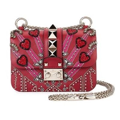 Lock Mini Love Blade Shoulder Bag