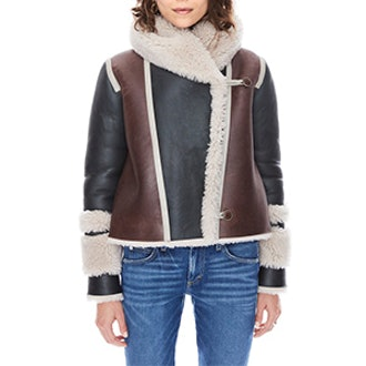 Hilda Shearling Jacket