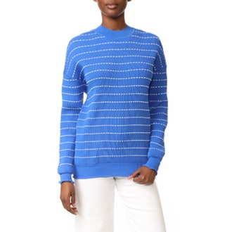 Flounce Trim Sweater