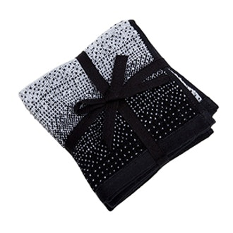 Cotton Towels with Striped Effect