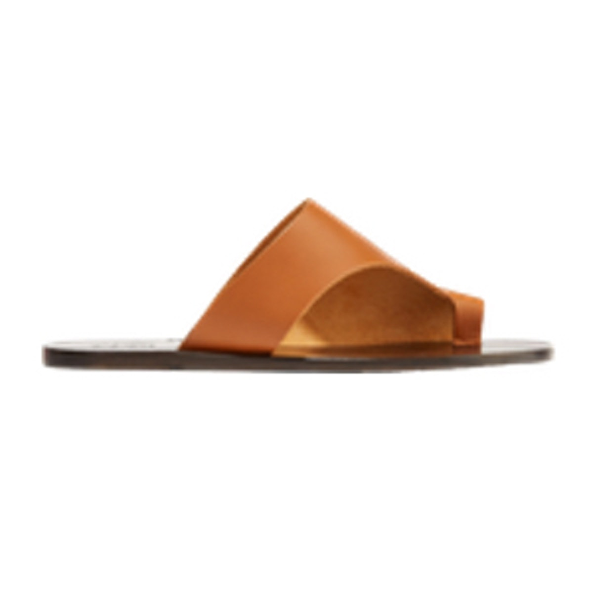 Rosa Cutout Leather Slides