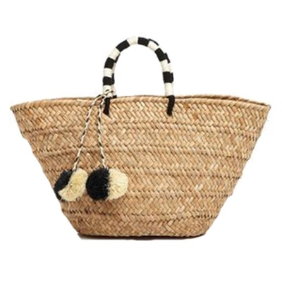 Accompany Straw Tote