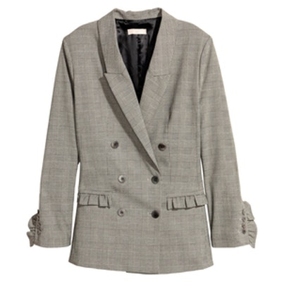 Jacket With Ruffle Details