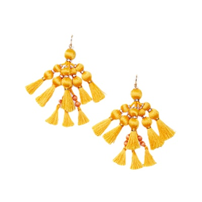 Kate Spade Tassel Statement Earrings
