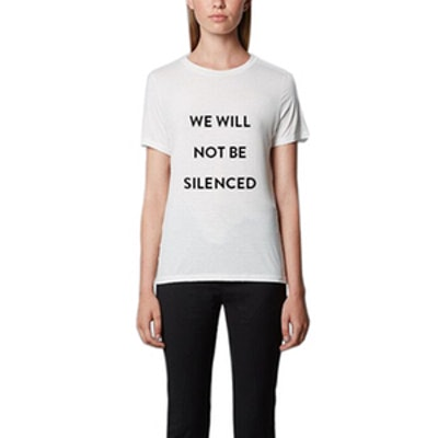 We Will Not Be Silenced Tee