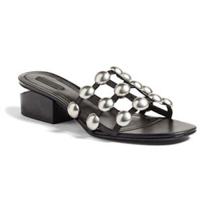 Lou Stud Slide Sandal
