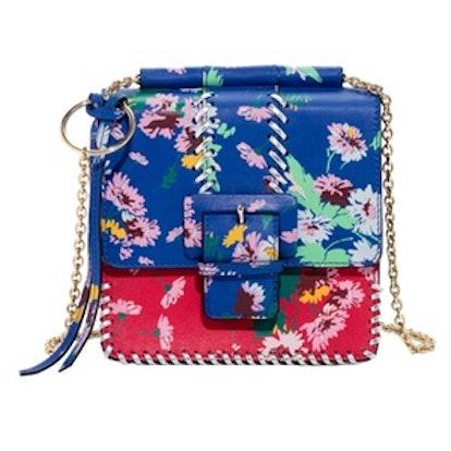Floral Buckle Mini Bag