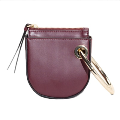 Leather Saddle Clutch