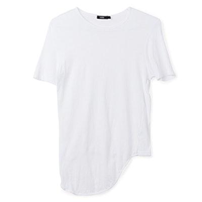Scoop Hem Short Sleeve T-Shirt