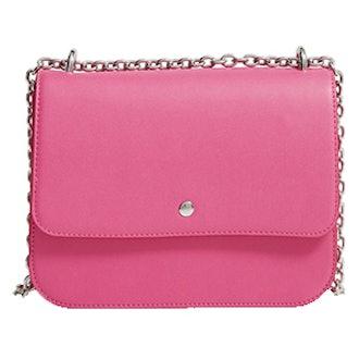 Dahlia Faux Leather Shoulder Bag
