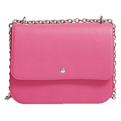 Dahlia Faux Leather Shoulder Bag