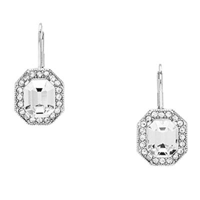 Art Deco Octagon Earrings