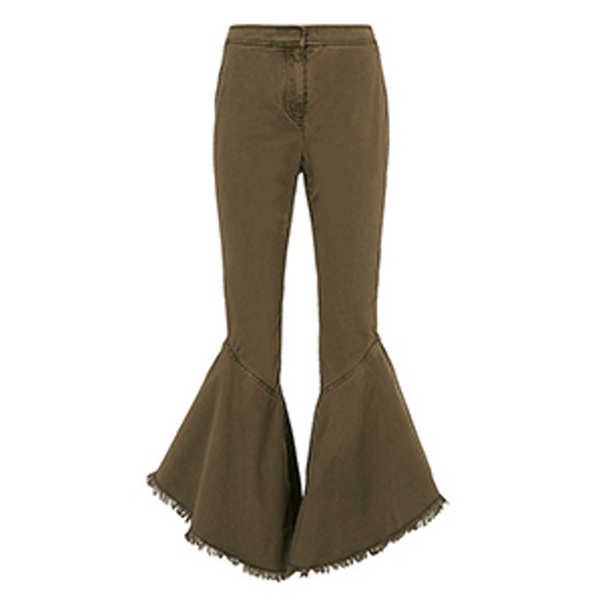 Wysteria Cropped Frill Pants