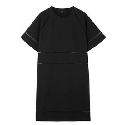 Dress With Grid Details